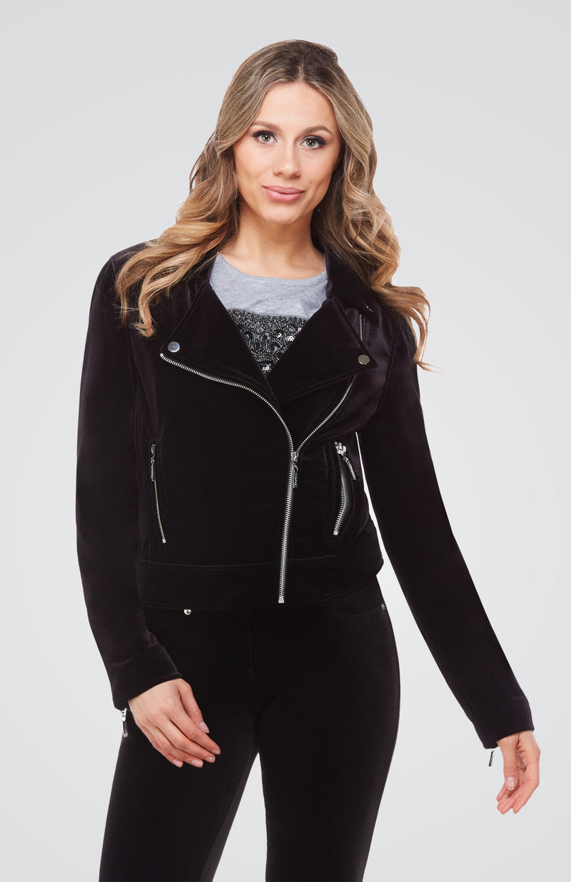 Velvet Jacket with Lining Now 30% Off