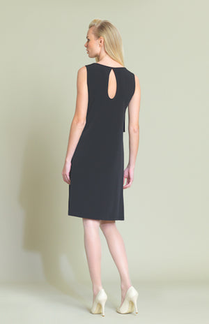 black back Double layer A-line Dress