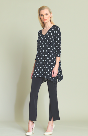 Mini Rose Dot Print Tunic