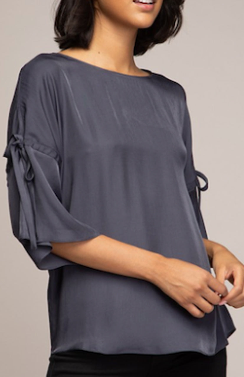 3/4 Sleeve Drop Shoulder Blouse