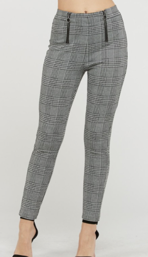 Plaid Ankle Pant