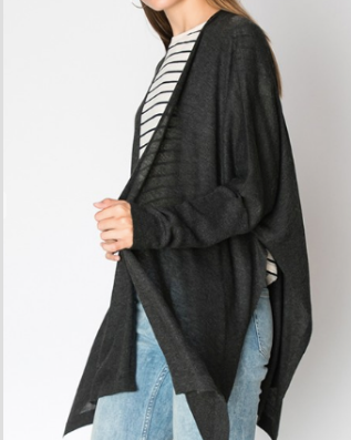 Ladies' Sweater Knit Cardigan