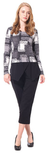 Ladies' Printed Sweater