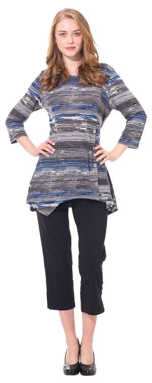 Ladies' Printed Sweater Dress