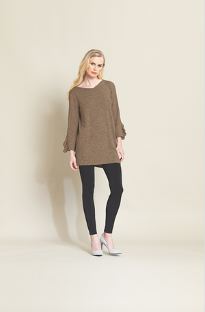Sweater Tunic with Side Vent