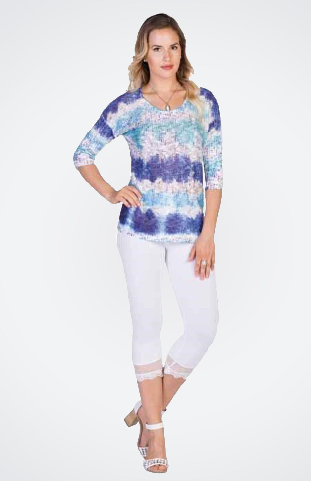 Stripe Pattern Pullover NOW 40% OFF