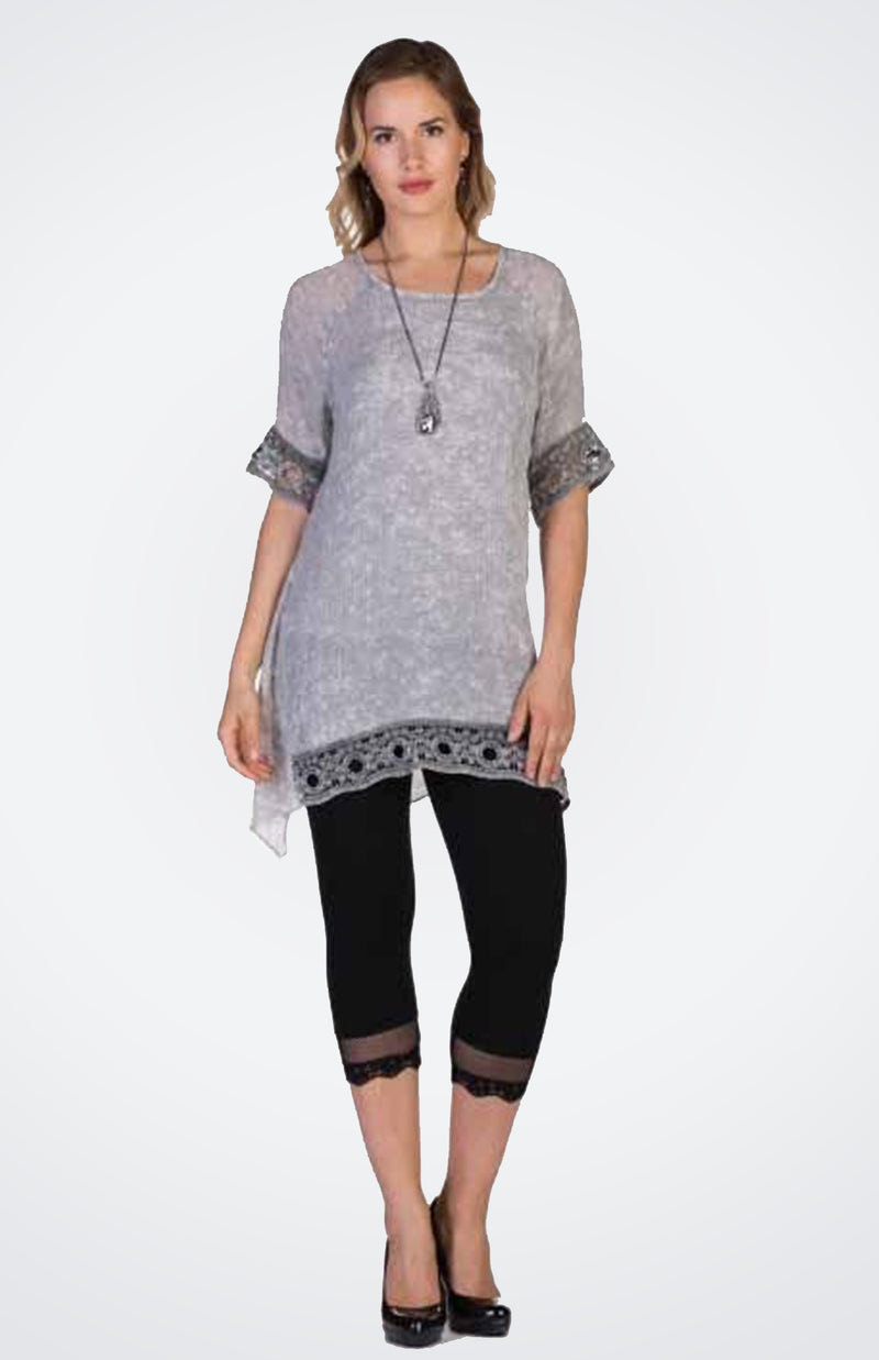 Tunic with Lace NOW  30% OFF