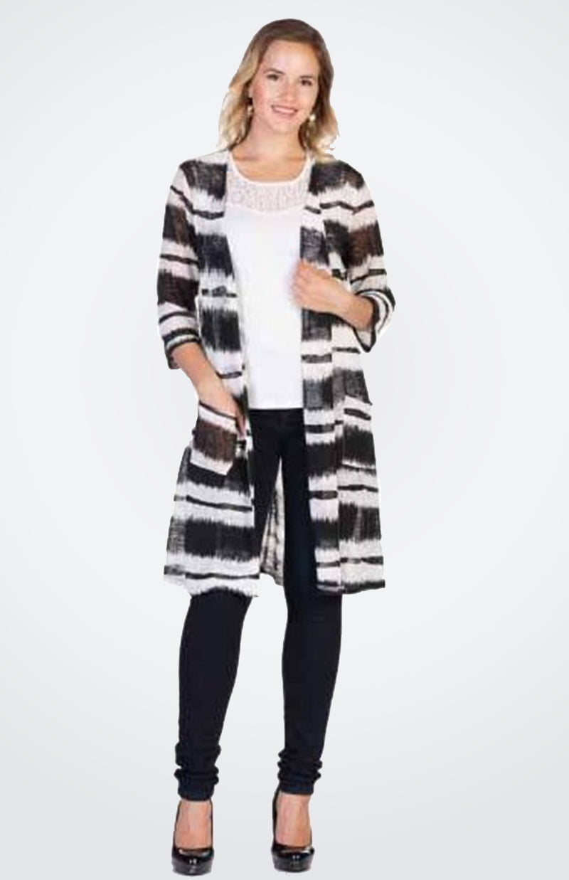 Long Printed Jacket