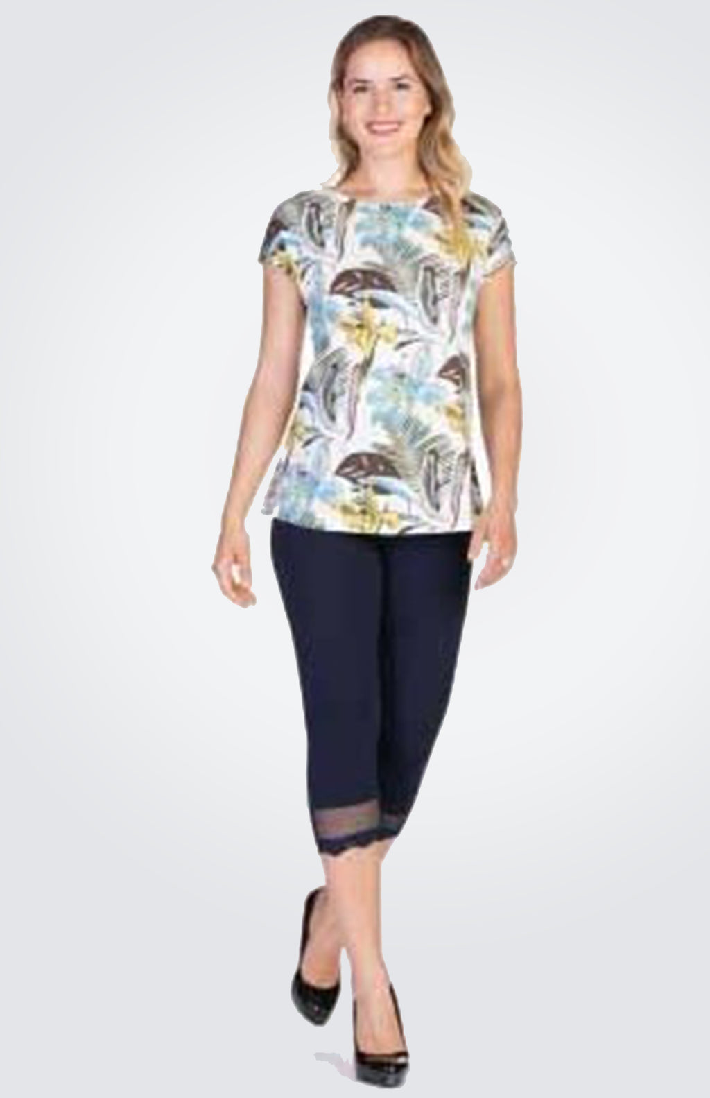 Printed Top  NOW 40% OFF