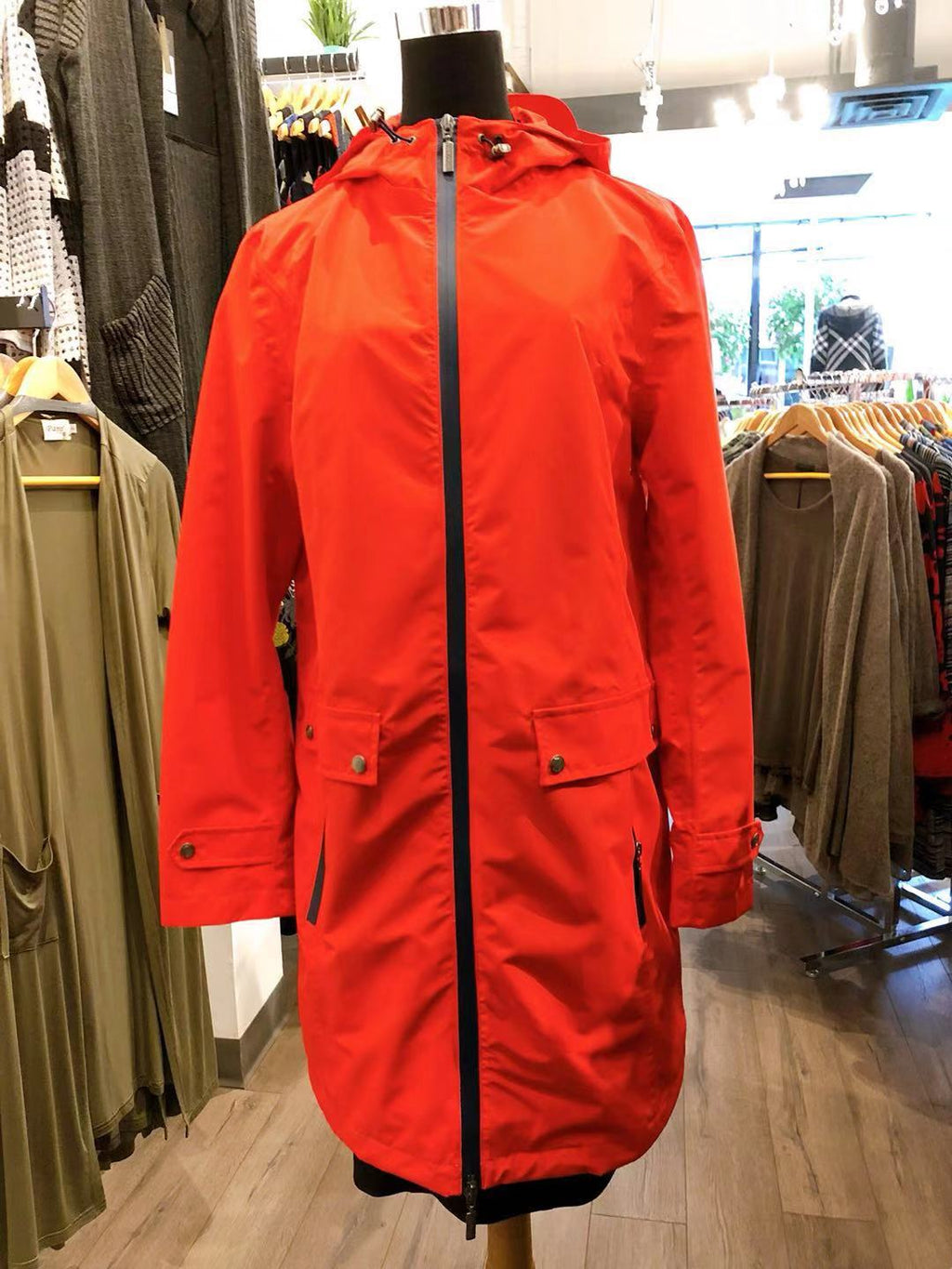 Waterproof Jacket with Lining