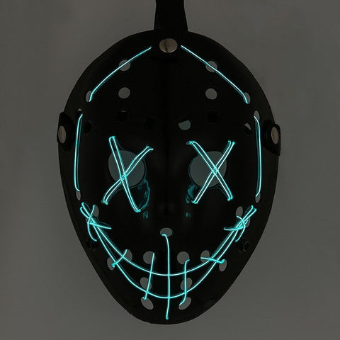 Jason Mask LED Mask (for Halloween)