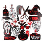 Creative Horror Cake Flags Supply Halloween