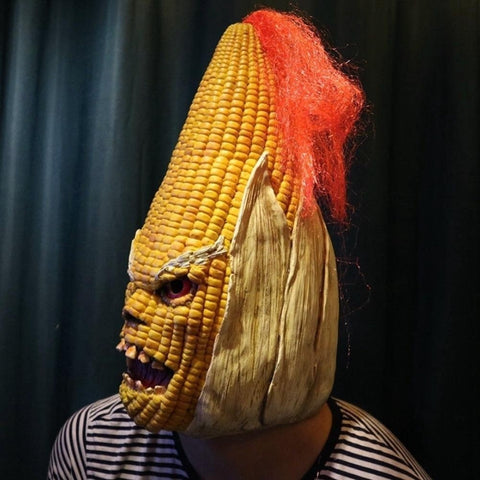 Angry Old Corn Mask (for Halloween)