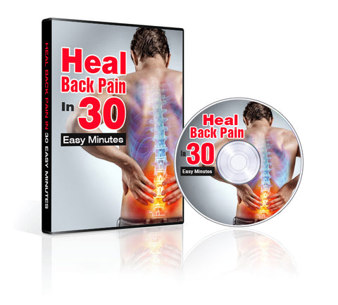 Heal Back Pain In 30 Easy Minutes