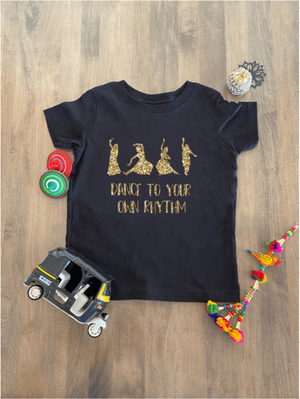 DANCE TO YOUR OWN RHYTHM GIRLS T-SHIRT