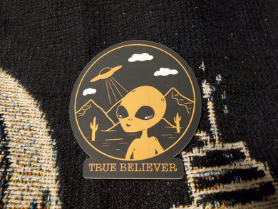 True Believer Sticker
