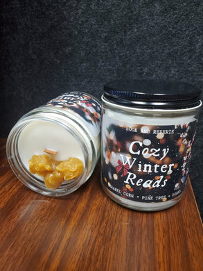 Cozy Winter Reads Candle