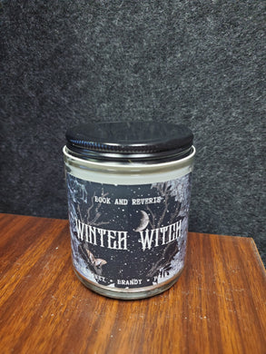 Winter Witch Candle