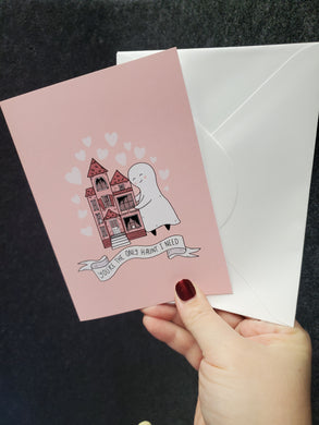 You're the Only Haunt I Need Card w/ Envelope