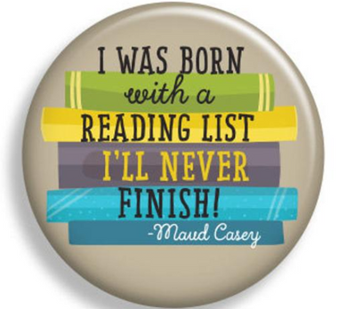 Born with a Reading List I'll Never Finish Magnet