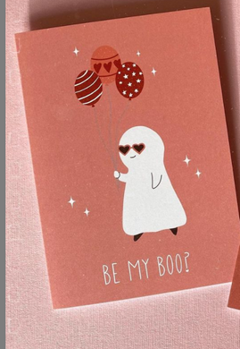 Be My Boo? Card w/ Envelope