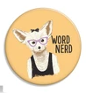 Word Nerd Button