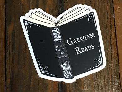 Gresham Reads Sticker