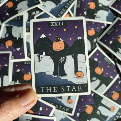 The Star Tarot Sticker