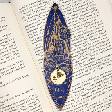 Enchanted Castle Wooden Bookmark