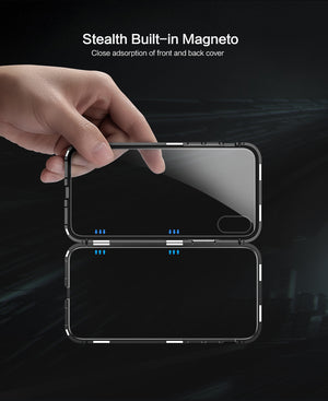 Magnetic Case For Apple iPhone X 10  8  7 Plus