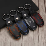Tesla Model X Remote Key Leather Case Cover