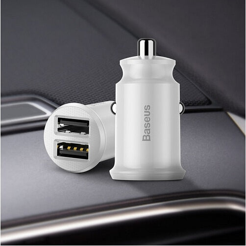 2 USB Port Car Charger