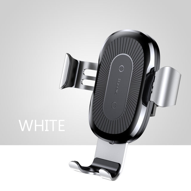 Car Holder Qi Wireless Charger For iPhone Samsung 10W