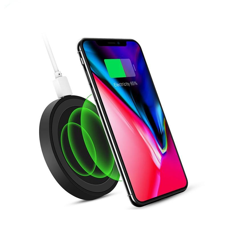 Wireless Charger for iPhone X 8 Plus Fast Wireless Charging Pad for Samsung Galaxy S8 S7 Note 8