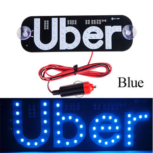 Uber Lyft Light Sign Light