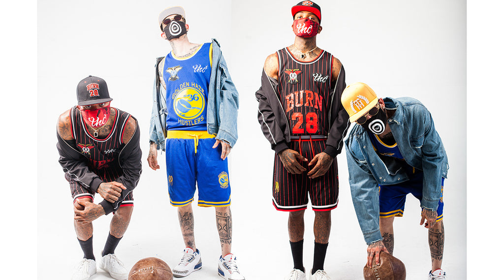 streetwear brands | THC basketball vests and pants