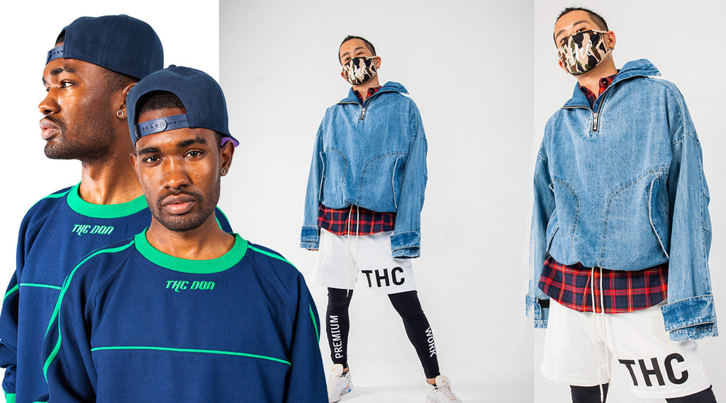 streetwear brands | THC soccer goalkeeper sweater & athletic pants