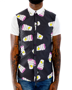 Dirty Cup SS Button Down Shirt | THC | Streetwear | hypebeast