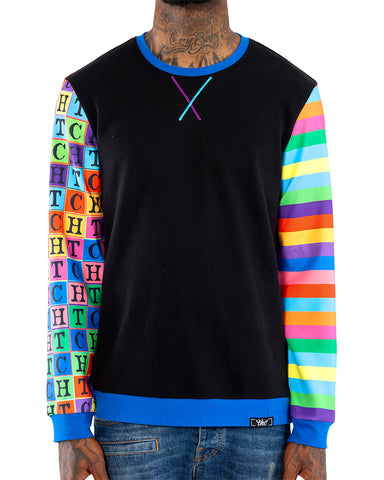 Small Blocks Crewneck