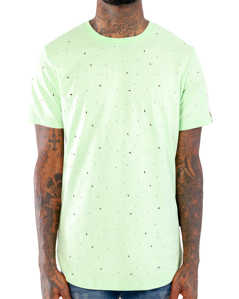 Shot Up Scoop Tee
