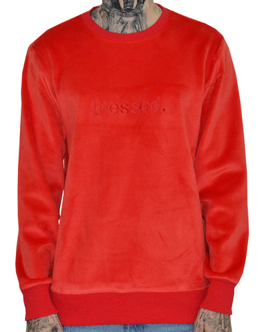 Velour Sweater Crewneck | THC | The Hideout Clothing | Streetwear | Urbanwear