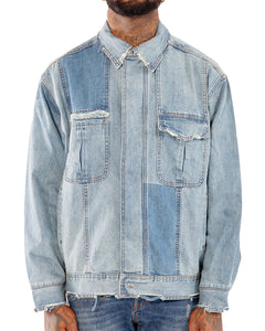 Distressed Denim Jacket | THC | Streetwear | urbanwear | hypebeast
