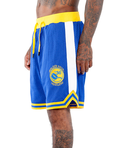 Golden Haze Mesh Sports Shorts | THC | Streetwear brands | urbanwear