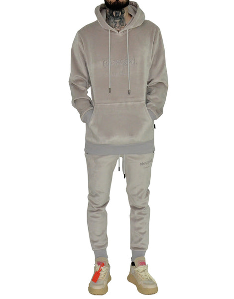 Blessed Velour Sweatpants | THC | Streetwear | urbanwear  Edit alt text