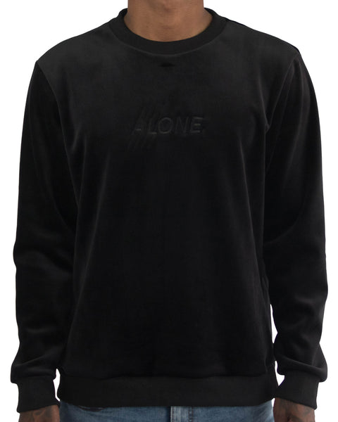 Alone Velour Crewneck