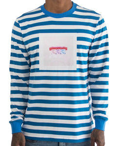 Her Lips Striped LS Tee