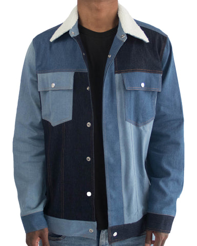 Patched Denim Jacket | THC | Streetwear brands | urbanwear | hypebeast