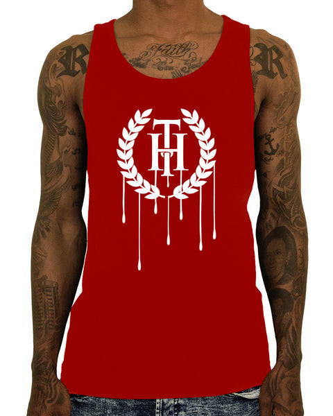 Dripping Tank Top | Male | THC | Streetwear  Edit alt text