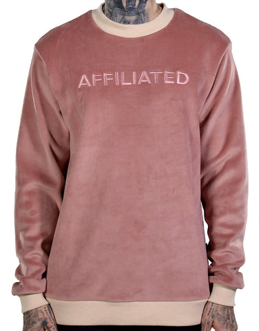 THC | Affiliated Velour Sweater Crewneck | Threadz Atlanta | Streetwear