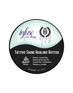 Infuse Pure Therapy | THC | The Hideout Clothing | Tattoo Shine Healing Butter | Natural
